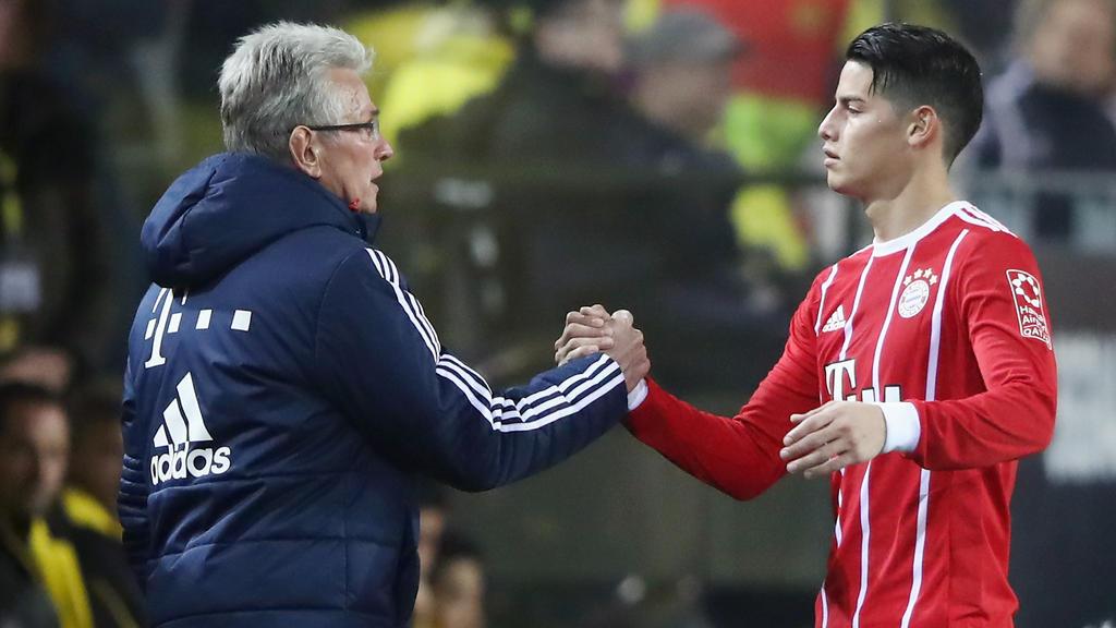 FC Bayern: James Rodríguez vermisst Jupp Heynckes