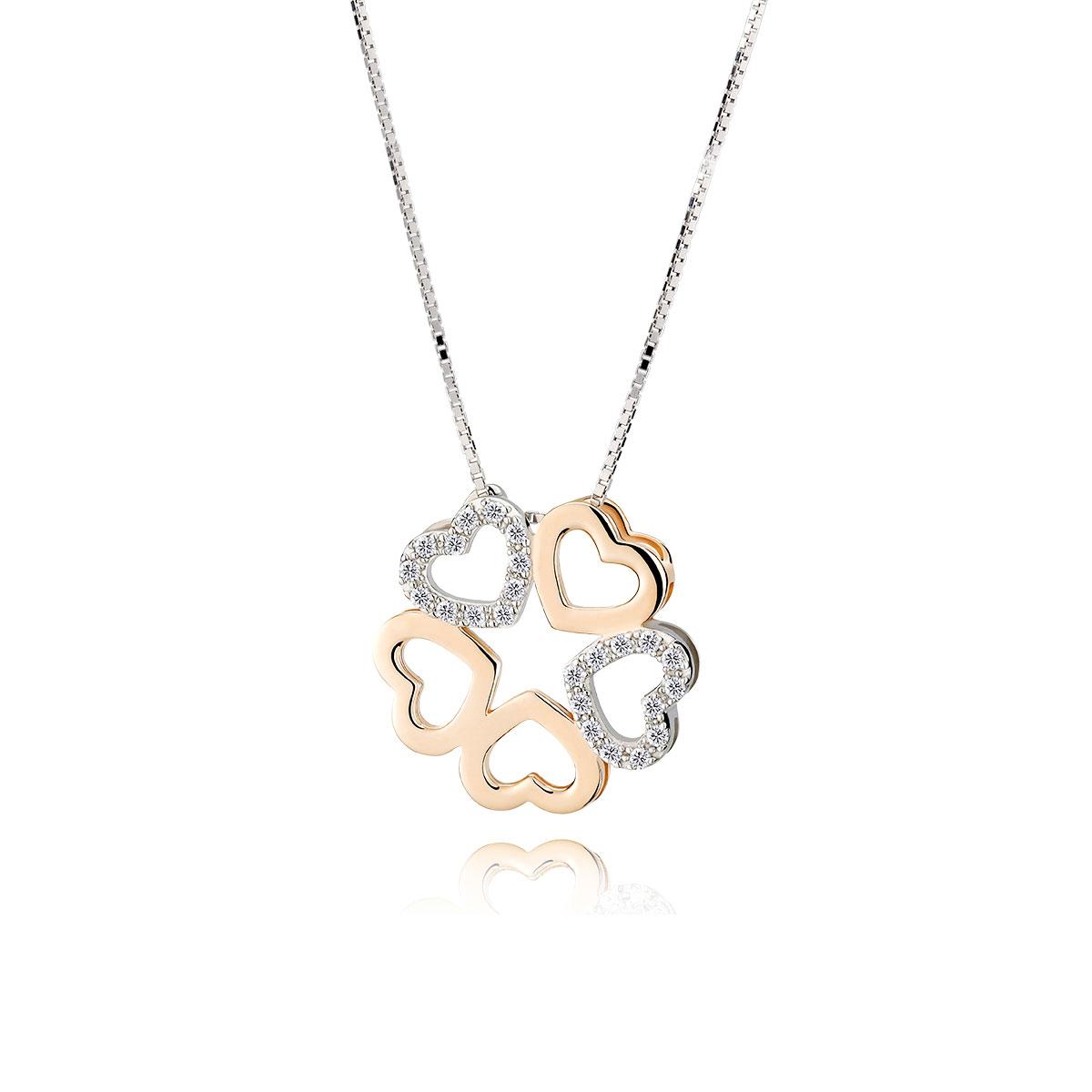 IR|純銀 女 項鍊 無止盡的愛氣質心型項鍊|IDEA ROCK