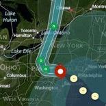 Interactive Hurricane Tracker