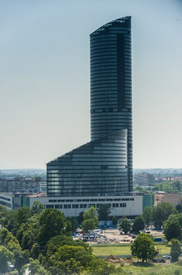 Sky Tower  Sightseeing  Wroclaw