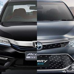 All New Camry กับ Accord Stop Lamp Grand Veloz เท ยบสเป ค Honda Hybrid และ Toyota ร นท อปท งค