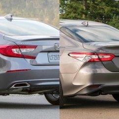 All New Camry กับ Accord Warna Grand Avanza 2017 เท ยบช อต Honda 2019 และ Toyota ใหม ค นไหนสวยกว า าก น