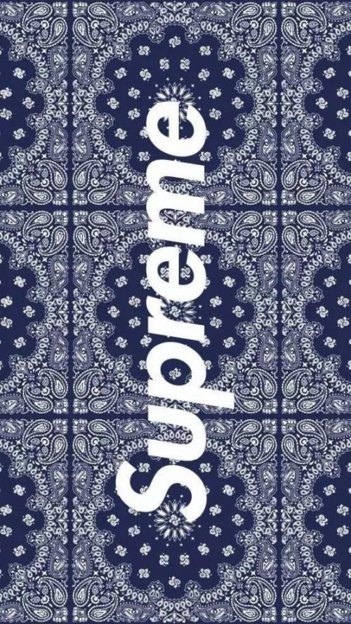 Crip Bandana Wallpaper : bandana, wallpaper, Supreme, Bandana, Wallpaper