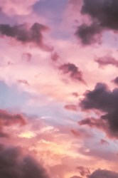 pink aesthetic backgrounds cat nice clouds itl clipart