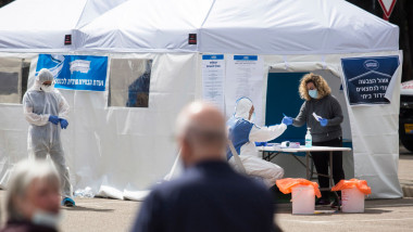 teste de coronavirus in Israel