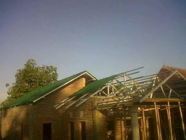 distributor rangka baja ringan yogyakarta terjual jual atap mankar truss di
