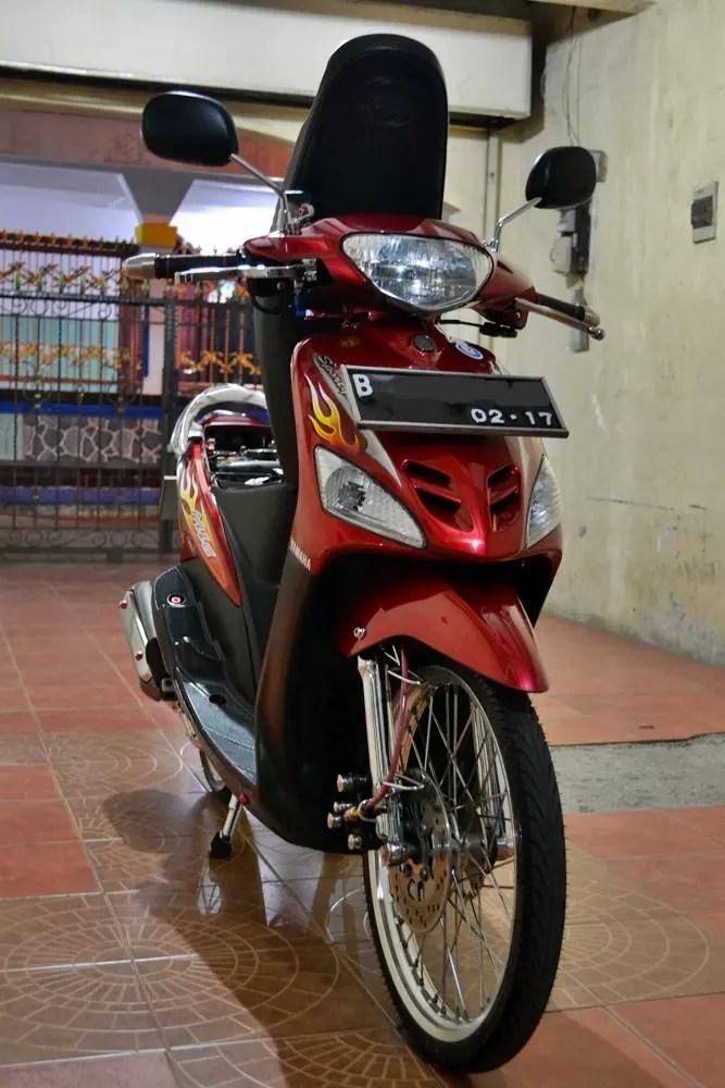 Mio Sporty Modifikasi Simple : sporty, modifikasi, simple, Terjual, Sporty, Simple,(thailand, Style)siap, Mejeng, KASKUS