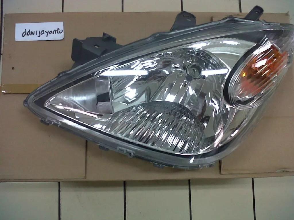 headlamp grand new avanza oli untuk 2017 terjual jual lampu depan lama kiri ori n