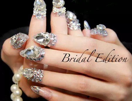 Just Request And We Make Your Nails Free Nail Glue Crystal Jl