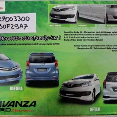 Perbedaan Grand New Avanza E Std Dan Toyota Yaris Trd Matic Body Kit Mobil 2010 Ottomania86