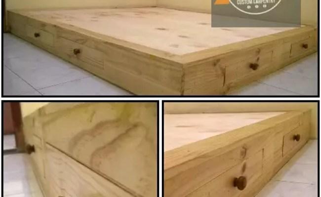 Terjual Custom Furniture Dari Kayu Pinus Jati Belanda