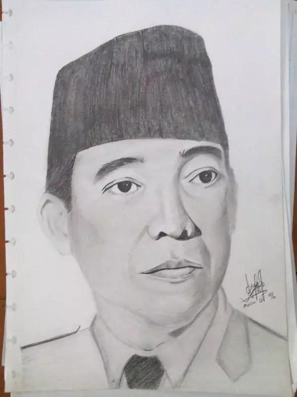 Sketsa Gambar Pahlawan : sketsa, gambar, pahlawan, Gambar, Sketsa, Pahlawan, Nasional, Indonesia, Terlengkap, Koleksi
