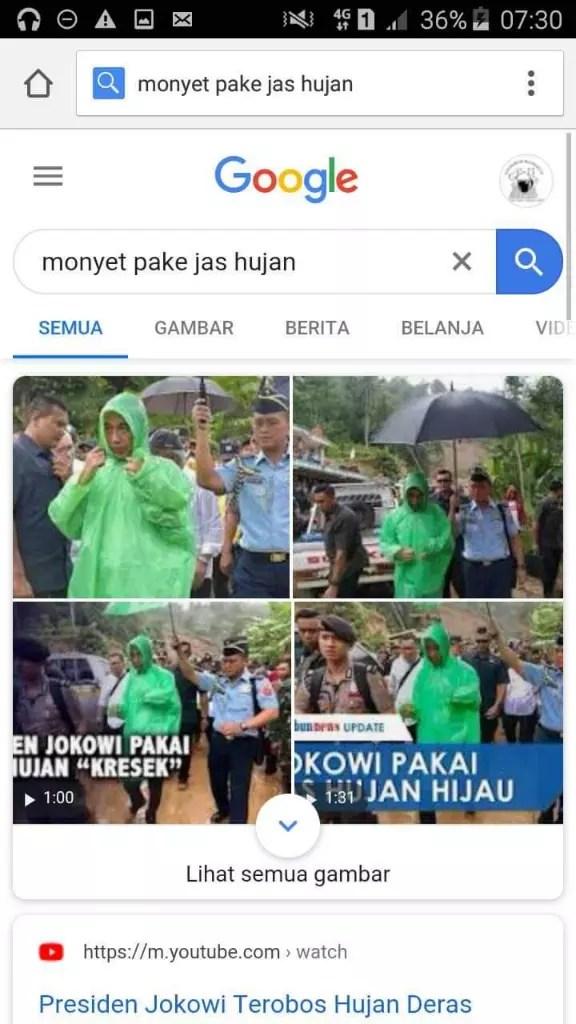 Monyet Pakai Jas Hujan : monyet, pakai, hujan, Monyet, Hujan, Presiden, Jokowi, Pakai, Google, Fakta, Sebenarnya, Katalog, Harga, Produk, Terlengkap, Januari, Indonesia., Leomaa-blase