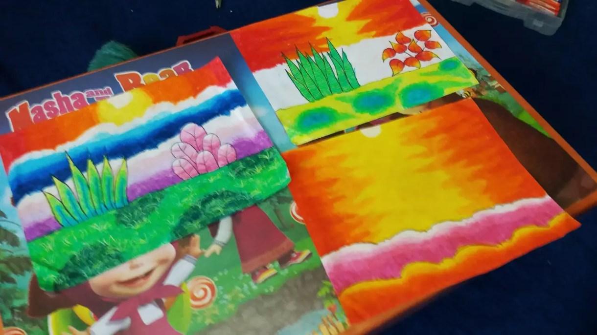 Asah Kreativitas Otak Anak Dengan Seni Selama Liburan Dirumah