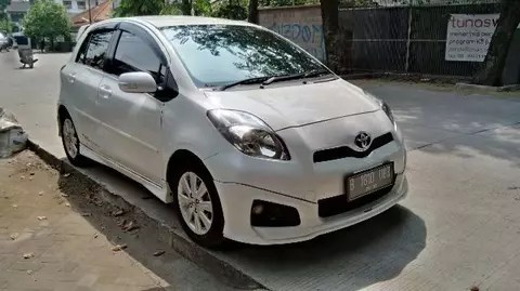toyota yaris trd sportivo manual jual spoiler grand new avanza terjual th 2012 putih full sound system mantab