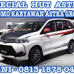 Grand New Veloz 1300 Avanza G 1.3 Mt Jual Promo Toyota Special Hut Astra Paket Murah Karyawan Group