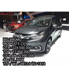 Grand New Veloz Vs Mobilio Rs Cvt All Kijang Innova 2019 Jual Big Promo Honda Jakarta Toyota Avanza Mitsubishi Expander Livina