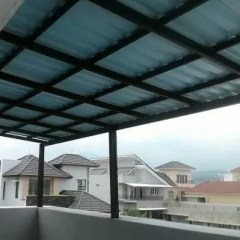 Rangka Baja Ringan Minimalis Terjual Kanopi Atap Alderon Model Premium