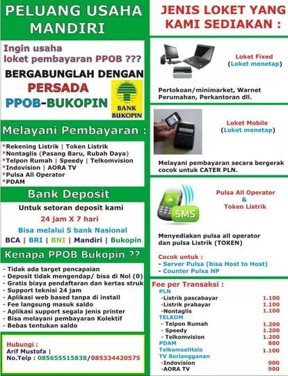 Ppob Bank Bukopin : bukopin, Usaha, Loket, Bukopin., Transaksi, Lancar, KASKUS