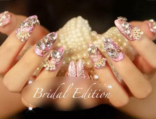Termurah Wedding Nail Art Semarang Kuku Palsu Tercantik Terlengkap