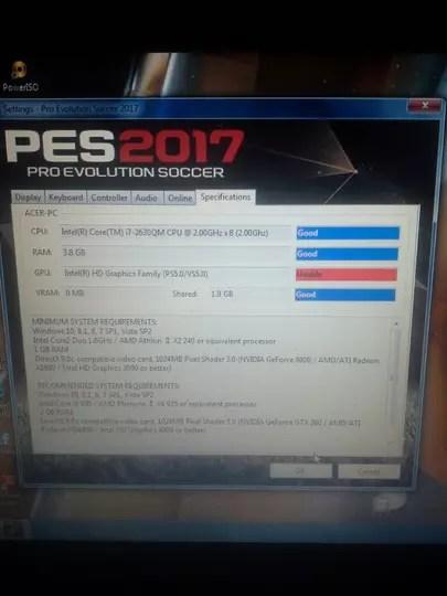 Gpu Unable Pes 2017 : unable, Evolution, Soccer, KASKUS