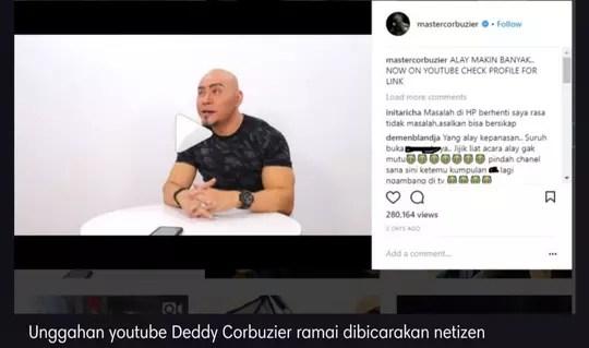 Deddy Corbuzier Bahas Artis Alay