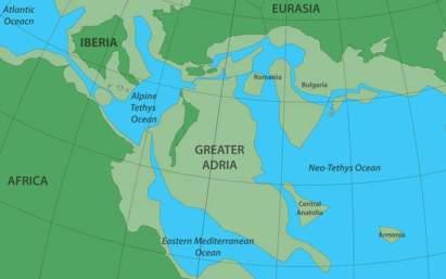 Η Αδρία είναι μια πραγματική χαμένη ήπειρος που είναι θαμμένη κάτω από τη Νότια Ευρώπη