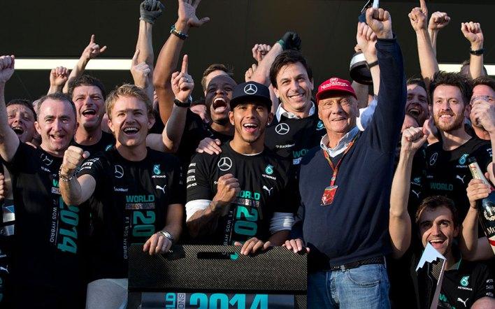 Ο κόσμος της F1 αποχαιρετά τον Νίκι Λάουντα