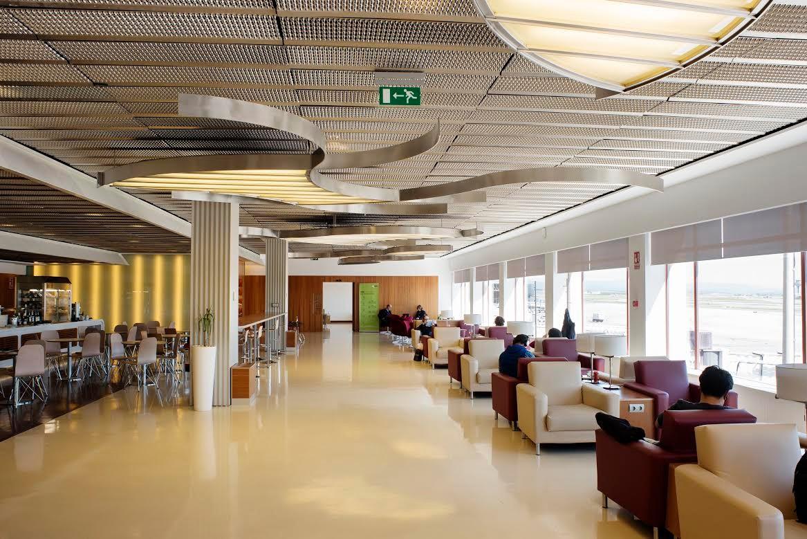 As son las renovadas salas VIP del aeropuerto de Barajas