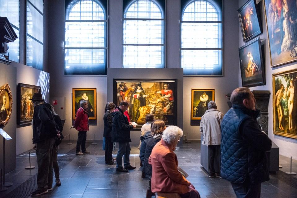 En el interior de la Casa museo de Rubens en Amberes - Libertad ...