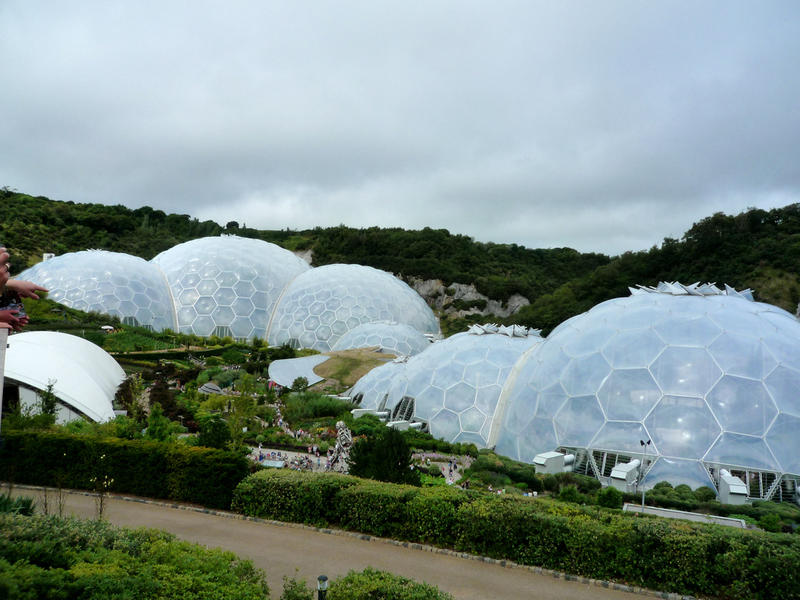 Proyecto Eden, St. Austell, Cornwall, Gran Bretaña