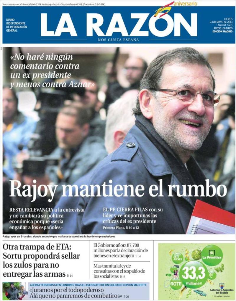 'La Razón'