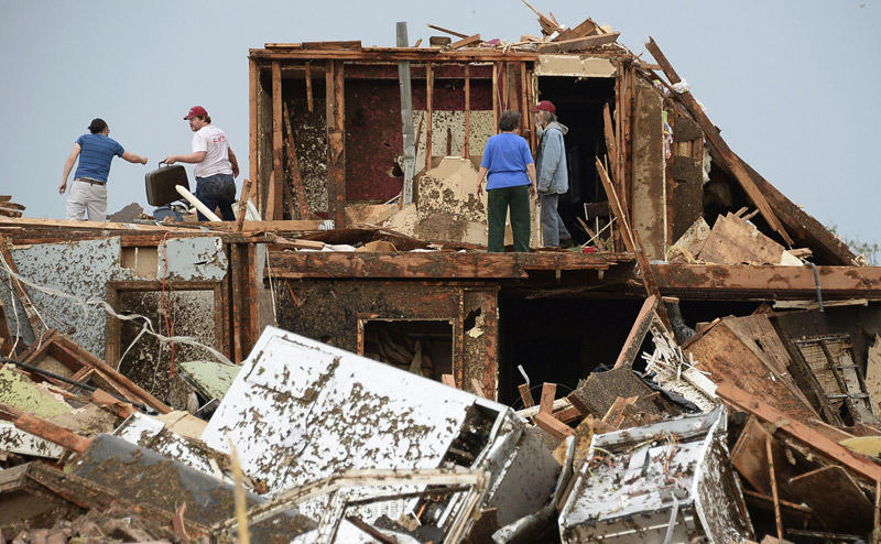 Un tornado devastador