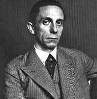 Goebbels.