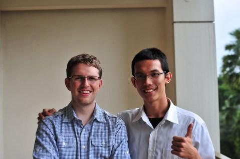Matt Mullenweg & Ilman Akbar