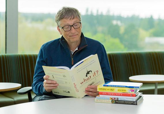 ITips Membacca Ala Bill Gates