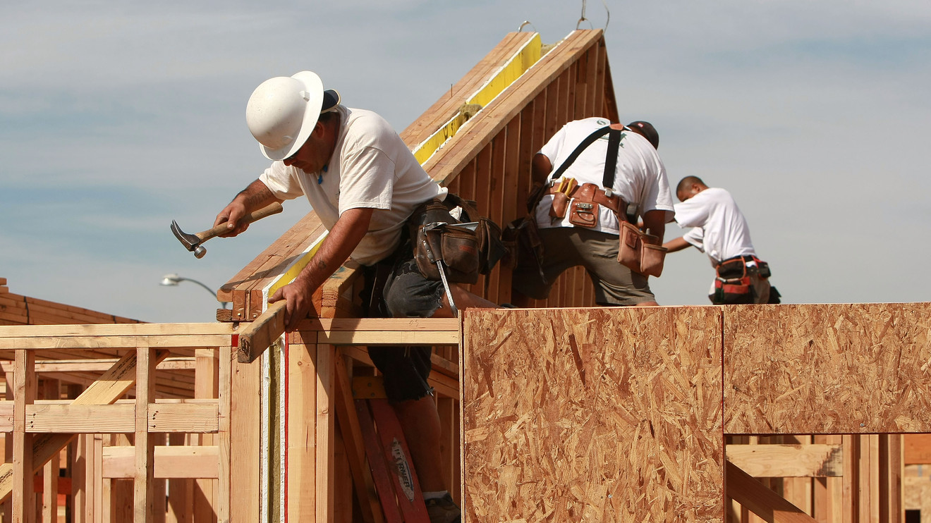 Housing starts fall 7 but permits pick up the slack in March  MarketWatch
