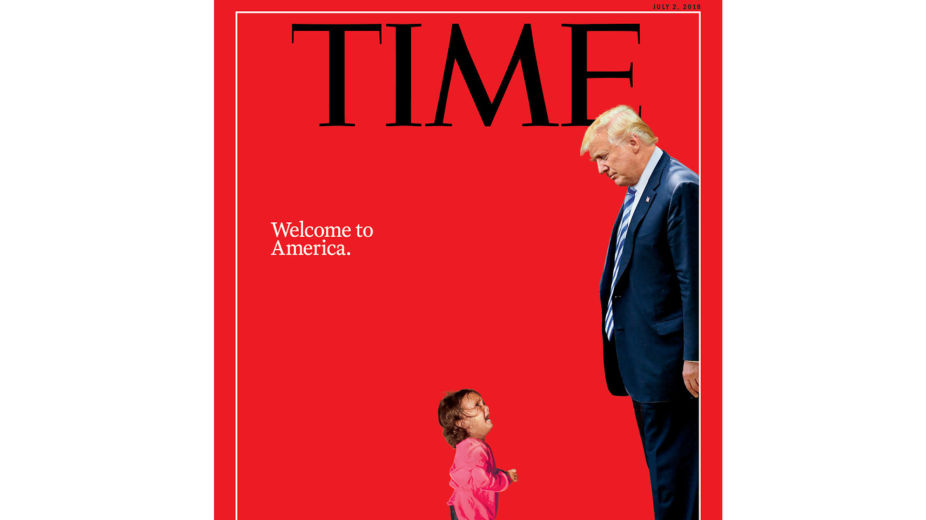 Crying girl on Time cover wasnt separated from mother father says  MarketWatch