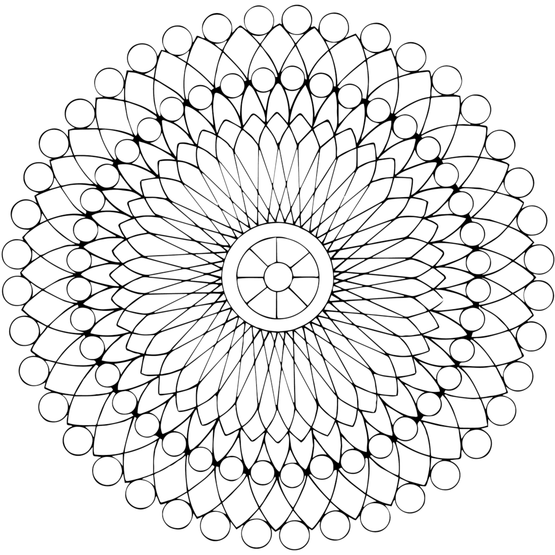 Beading Coloring Page