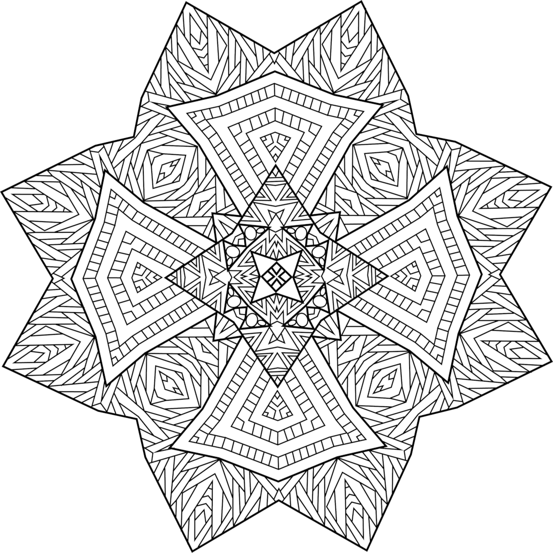 Northern Guide Coloring Page