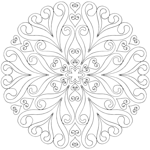 Life in Bloom Coloring Page