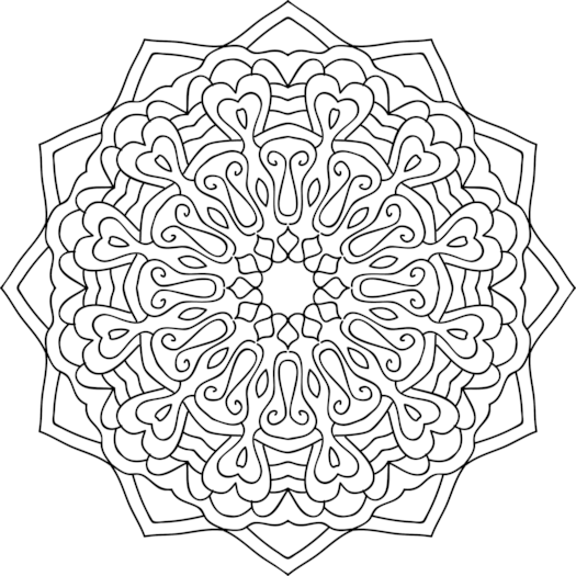 Spinning Yarn Coloring Page
