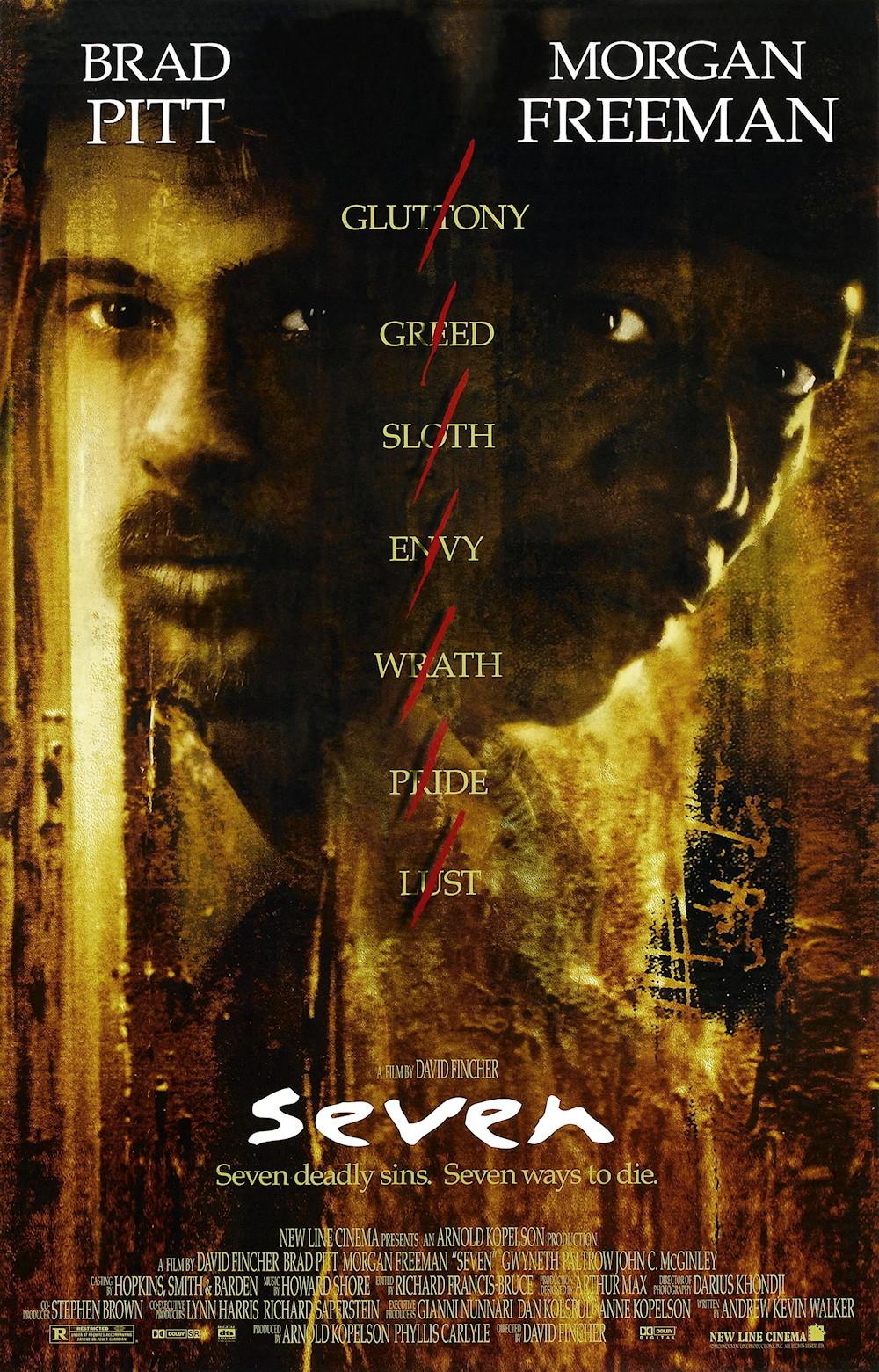 Se7en Movie Poster - #36148