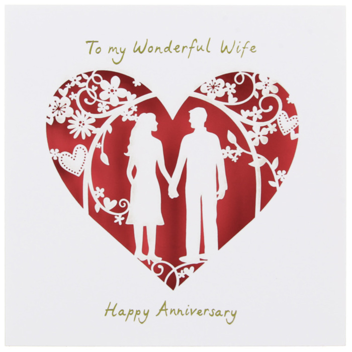 To My Wonderful Wife Happy Anniversary Other Holidays