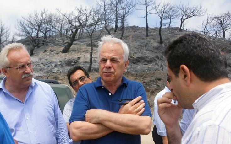 Αποστόλου: Άμεσα οι αποζημιώσεις της πρόσφατης καταστροφικής πυρκαγιάς στη Ρόδο