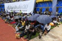 Weeping Rwandans Told ' 20 Years Genocide