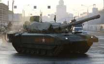 Armata Russian Tank T 14
