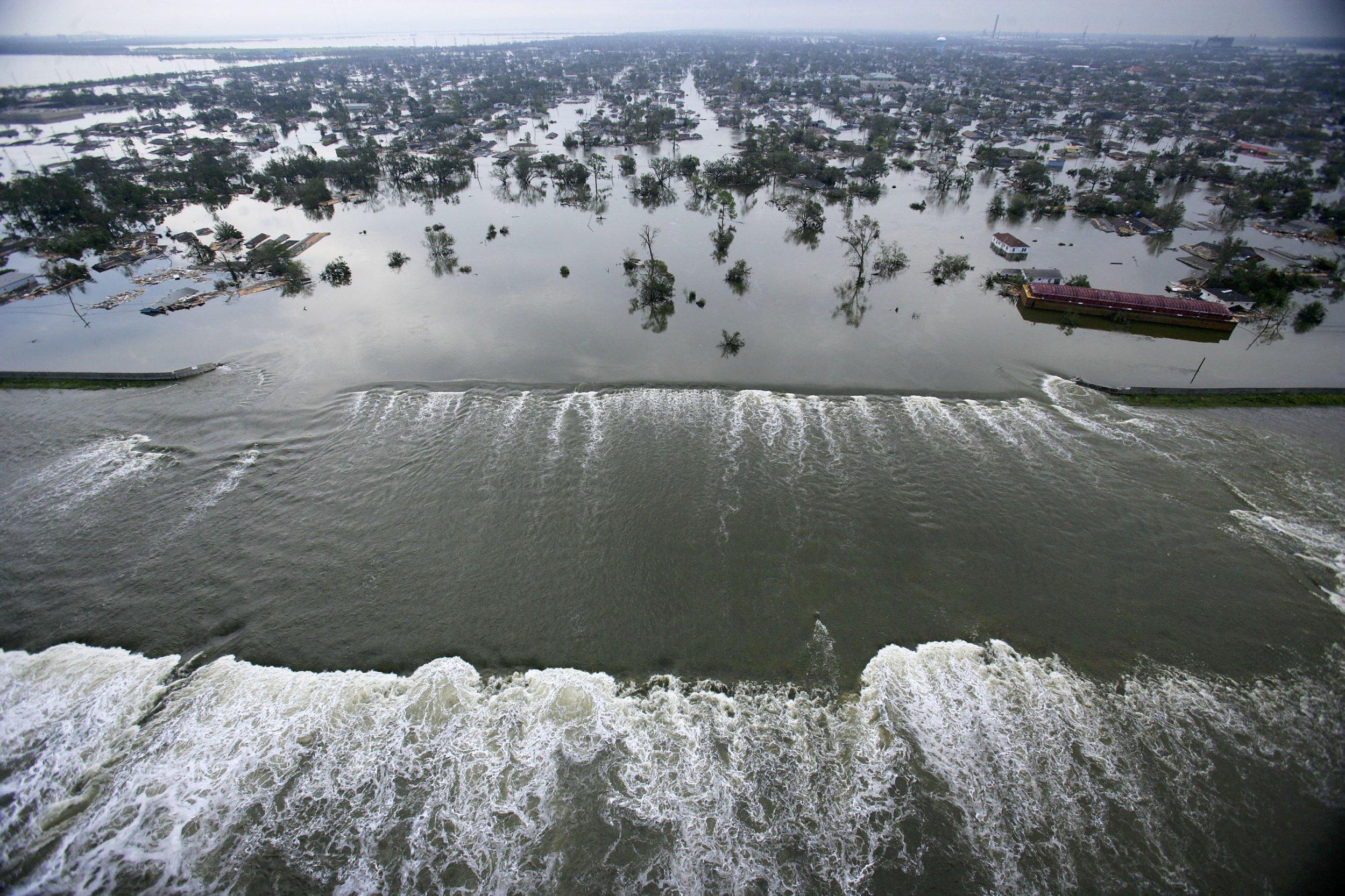 Hurricane Katrina Levees