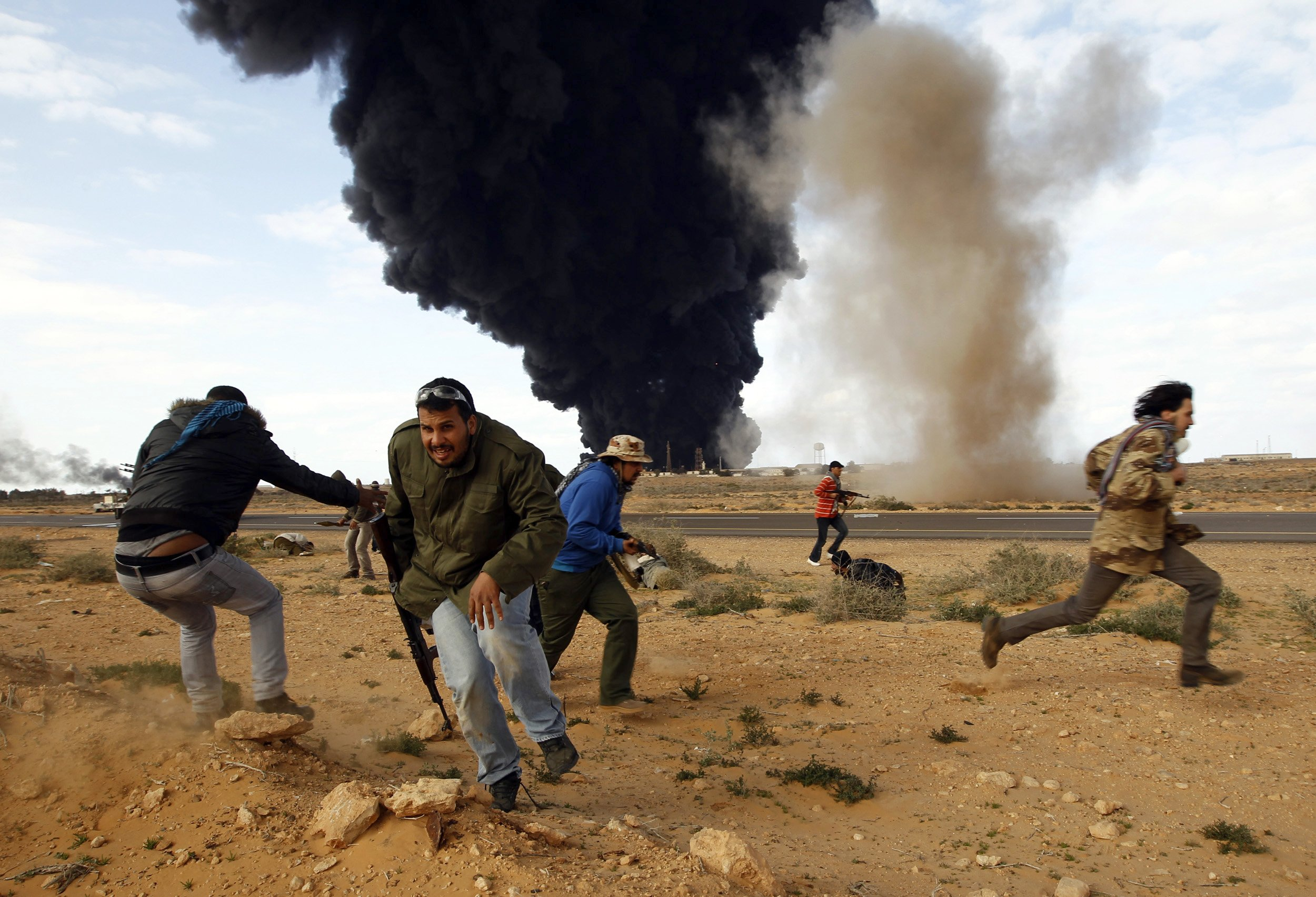 What Obamas Military Intervention in Libya Left Behind