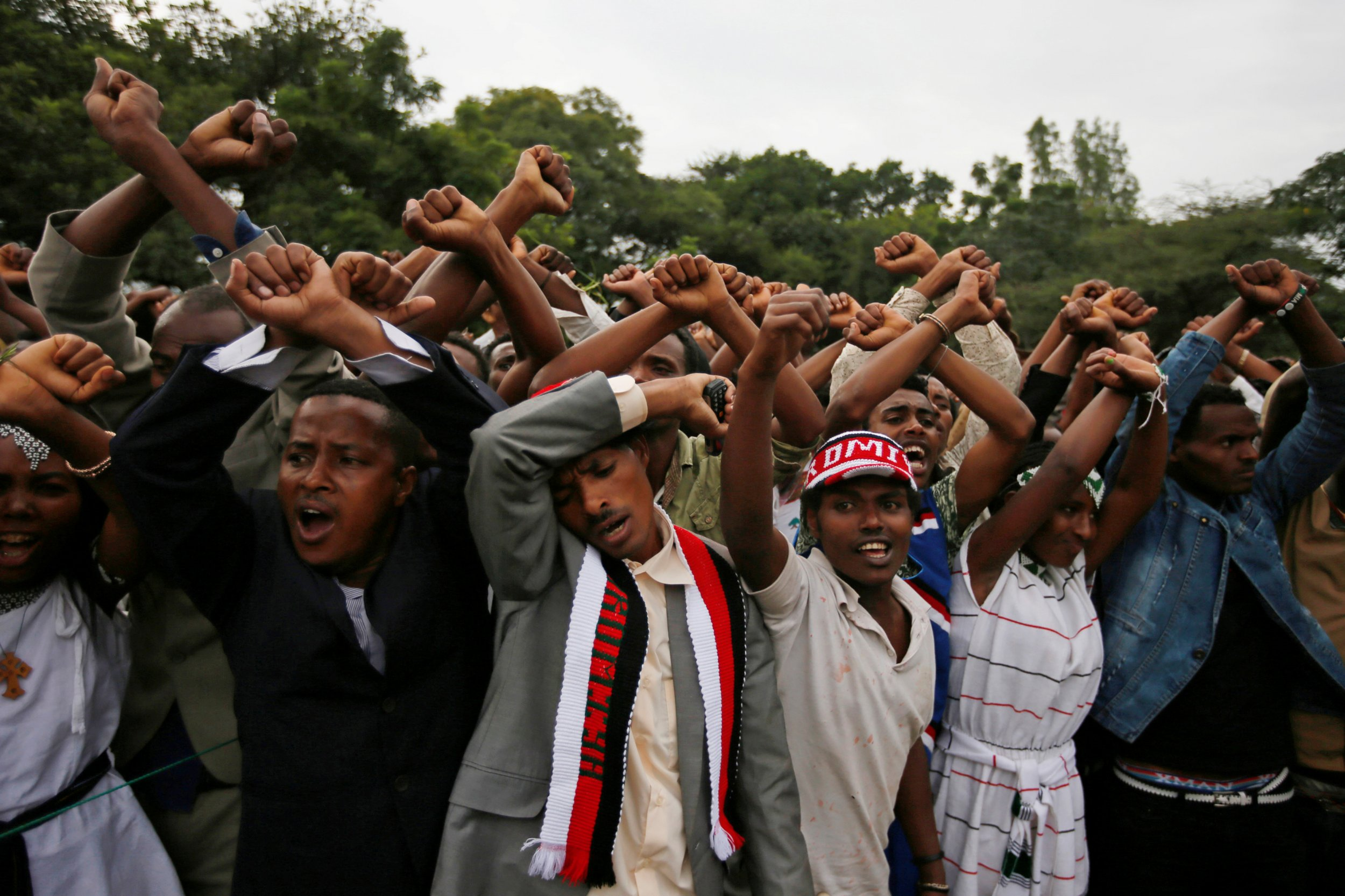 Image result for oromo protests